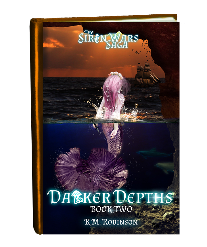 Darker Depths (Siren Wars) in book form-final small