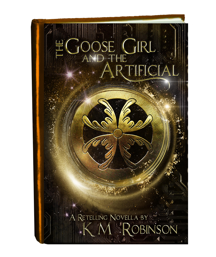 The Goose Girl and the Artificial REAL in book form-final small